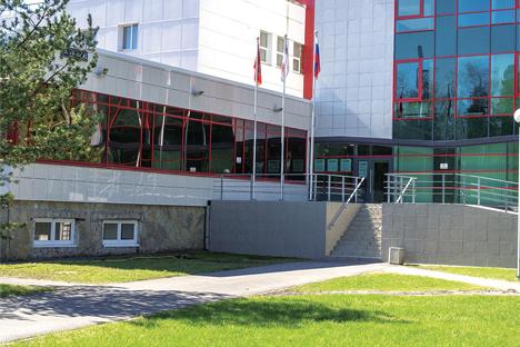 Здание онкологической клиники МИБС в п.Песочный